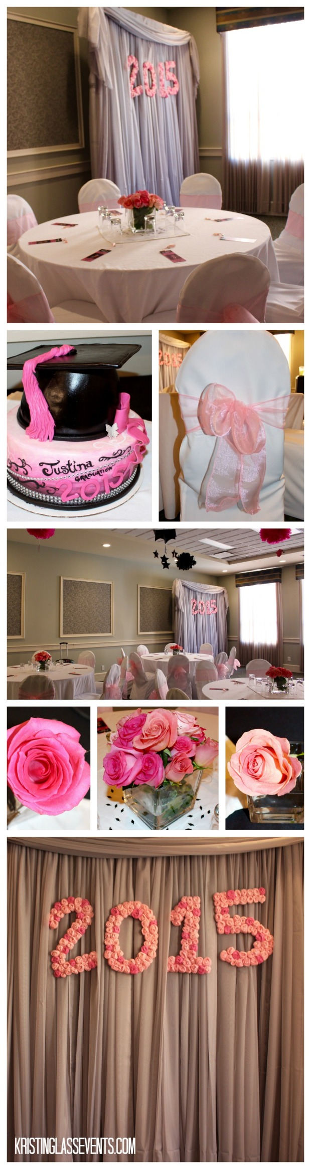 A Pink Graduation Party