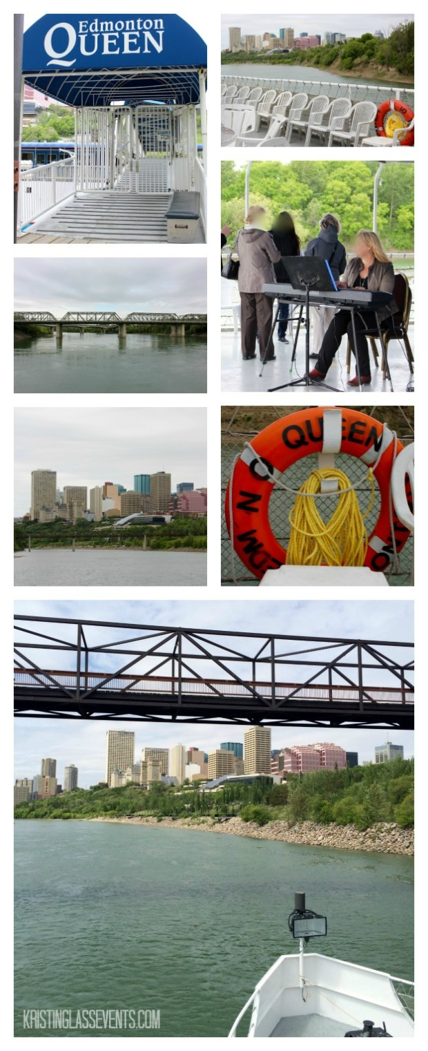 Celebration of Life on the Water collage - Edmonton Queen Riverboat